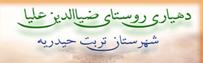 سایت دهیاری روستای ضیاء الدین علیا